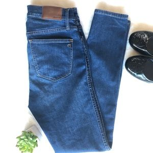 "Madewell 9""High-Rise Skinny Jeans"